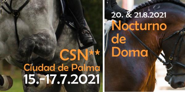 ++ Primeros torneos en Palma Equestrian ++